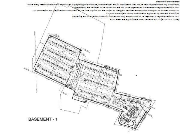 Floor Plan Basement 1 Altira Business Park