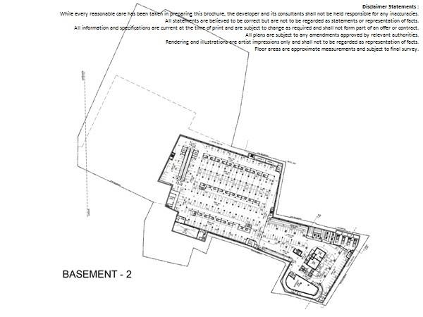 Floor Plan Basement 2 Altira Business Park