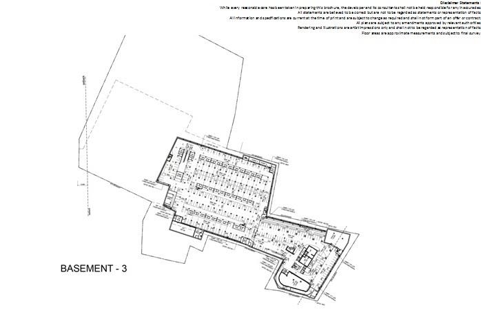 Floor Plan Basement 3 Altira Business Park