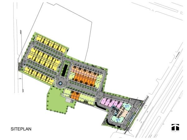 Site Plan Altira Business Park